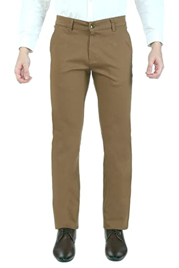hot-selling official provide large selection of big clearance sale Ruan Light Brown Formal Chinos Trouser for Men,Regular Fit, 100% Cotton  Formal Light Brown Trouser_8903473025148_Light Brown_30