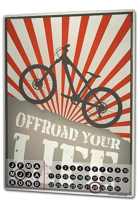 Calendario Vvf.Calendario Perpetuo Sport Moto Offroad Magnetico Amazon It
