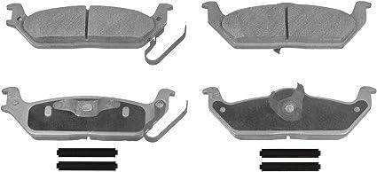 Disc Brake Pad Set-ThermoQuiet Disc Brake Pad Rear Wagner QC1012A