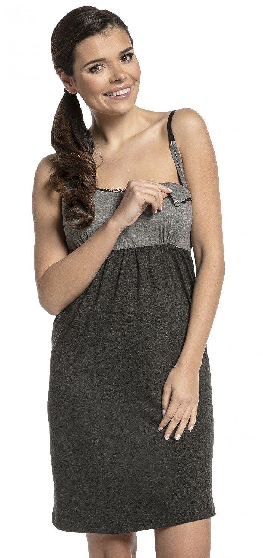 Happy Mama - Women's Maternity Nursing Nightdress / Robe - MIX & MATCH - 974c nursing_night_974