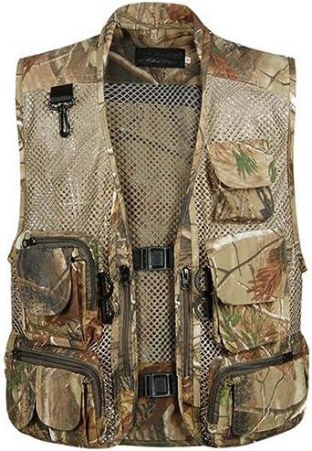 UK Fly Fishing Mesh Vest 3 In 1 Backpack Jacket Fisherman Multi-Pocket vest T0R5