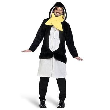 Limit Sport - Disfraz abrigo y bufanda de pingüino hombre, talla ...