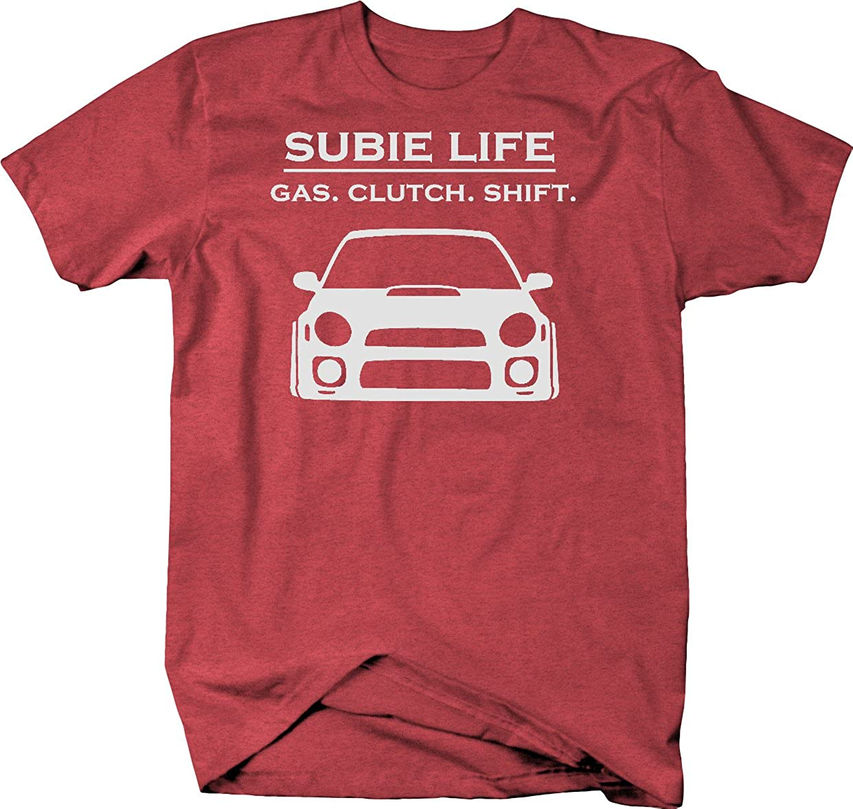 Rally Racing WRX STI Turbo JDM T Shirt Gas Clutch Shift CGM wear Subie Life