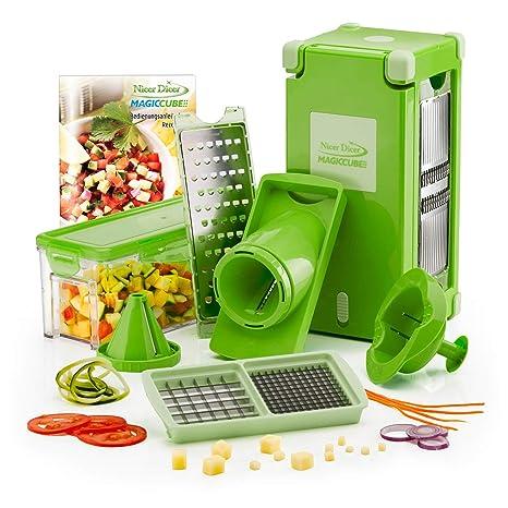 Amazon.com: Genius - Cortador de verduras y frutas (plástico ...