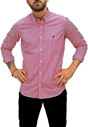 Camisa El Pulpo Vichy Rojo Hombre L Rojo: Amazon.es: Zapatos y complementos