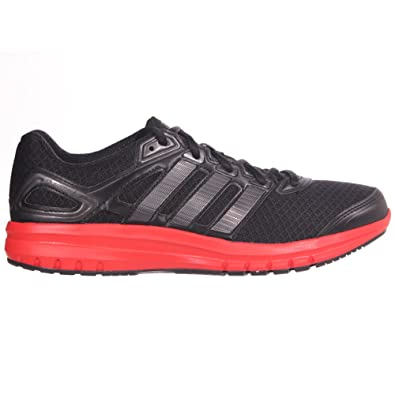 new product e4e61 36a31 adidas Duramo 6 Running Trainer Mens - Black  Red, UK 9 Amazon.co.uk  Shoes  Bags