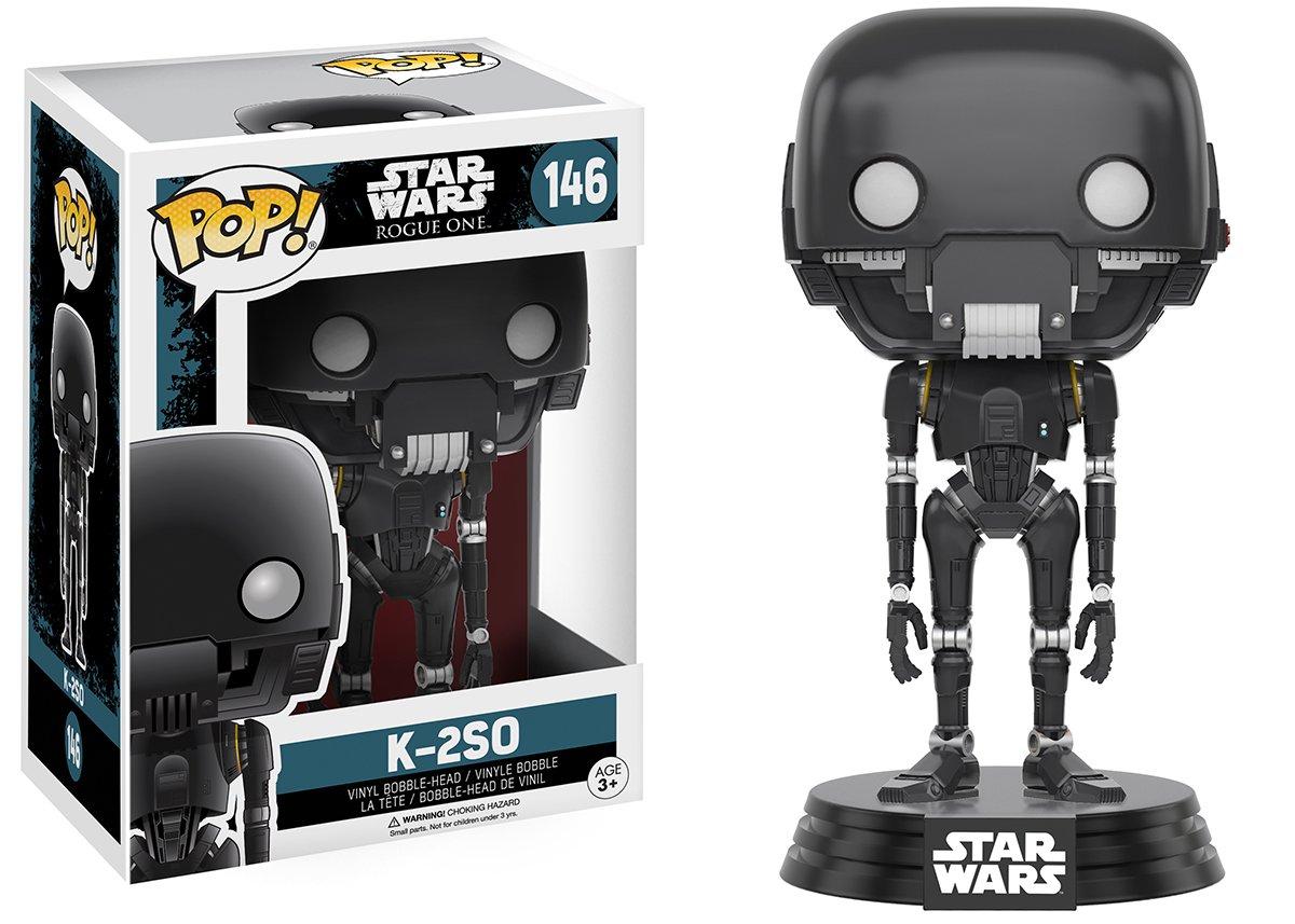 POP Star Wars: Rogue One - K-2SO Funko Pop! Star Wars: 10454 Accessory Toys & Games