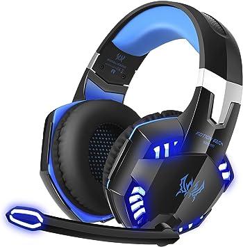 BENGOO G2000 Gaming Headphone Surround Sound Over-Ear Headphones Volume Control