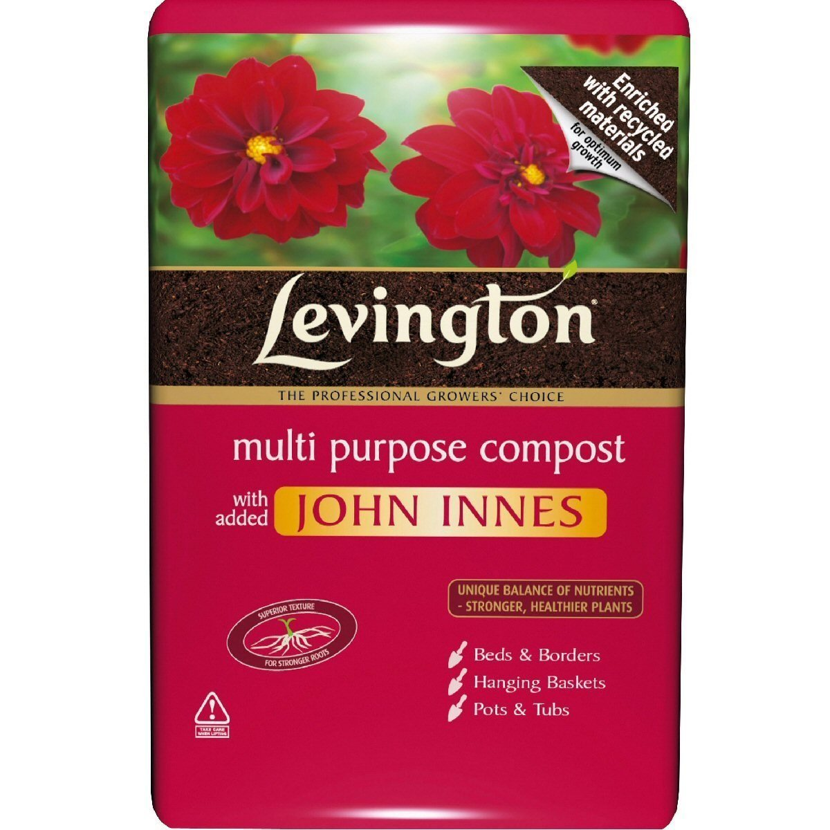 Image for westland multi purpose compost with john innes 50l from - Levington Multi Purpose Compost With Added John Innes 8ltr Amazon Co Uk Garden Outdoors