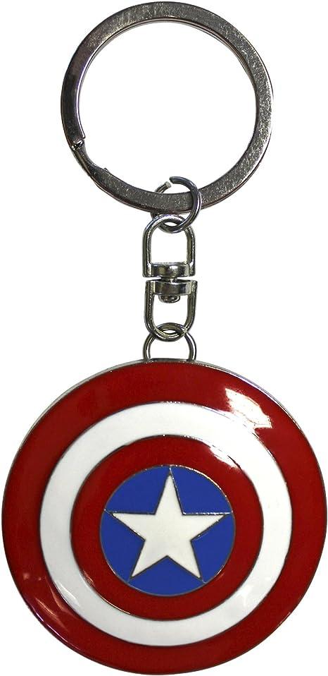 ABYstyle - MARVEL - Llavero 3D - Captain America blinda: Amazon.es ...