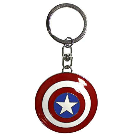 ABYstyle - MARVEL - Llavero 3D - Captain America blinda