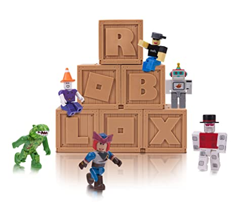 Amazoncom Roblox Series 2 Mystery Figure Six Pack Toys Games