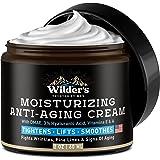 Men's Face Cream Moisturizer - Anti Aging Facial Skin Care - Made in USA - Collagen, Retinol, Hyaluronic Acid - Day & Night -