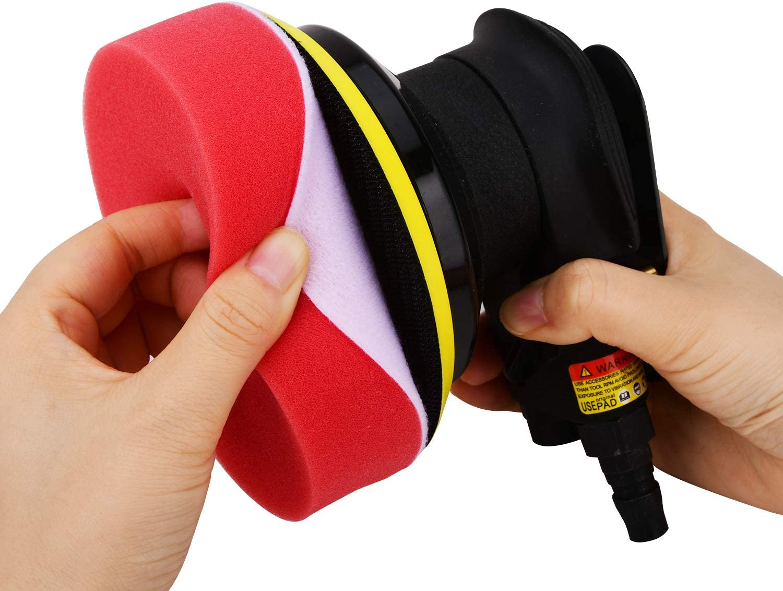 5 Inch Polishing Sponge car Wool polishing pad for polishing Machine 5 Pieces Polishing Sponge Set for Air Sander