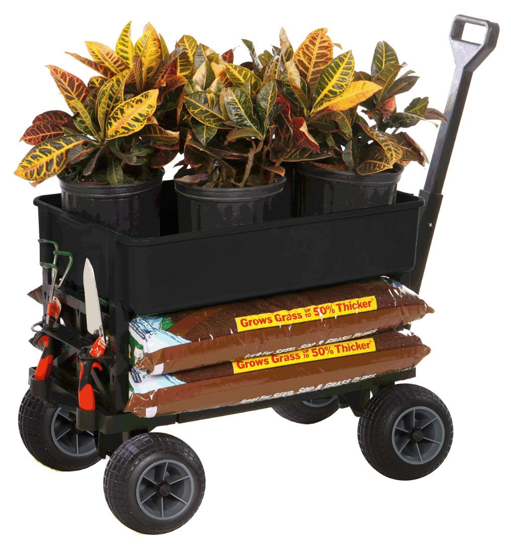 Mighty Max Plus One Multipurpose Garden Fishing Sports Equipment Cart by Mighty Max Cart (Image #11)