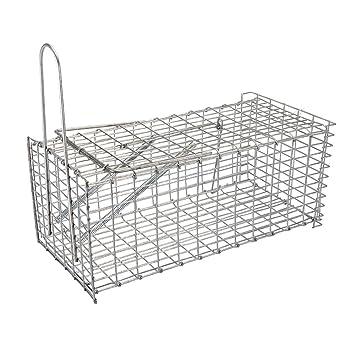FIXMAN 196052 - Jaula plegable para atrapar roedores (300 mm ...