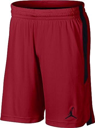 60d590bcb4390 Nike Men's 23 ALPHA Dry Knit Short, Black(Gym Red/Black/Black687), X ...