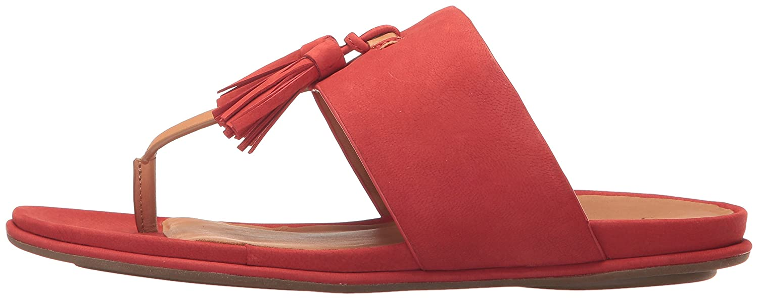 Gentle Souls by Kenneth Sandal Cole Women's Ottie Flat Sandal Kenneth B01N023C7K 8.5 B(M) US|Red 16f863