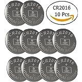 CR2016 3V Lithium Battery(10-pack)