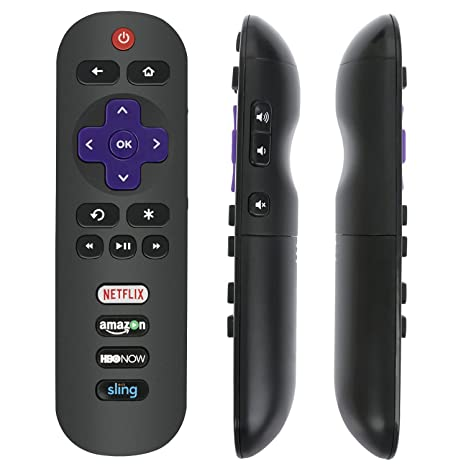 Amazoncom Replaced Remote Rc280 With Netflix Hbo Sling Key For Tcl