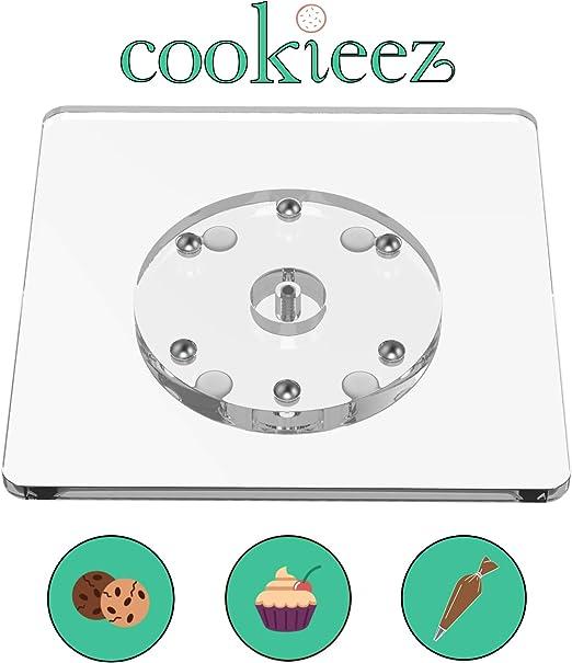 Amazon.com: Cookieez Lazy Susan - Plato giratorio (acrílico ...