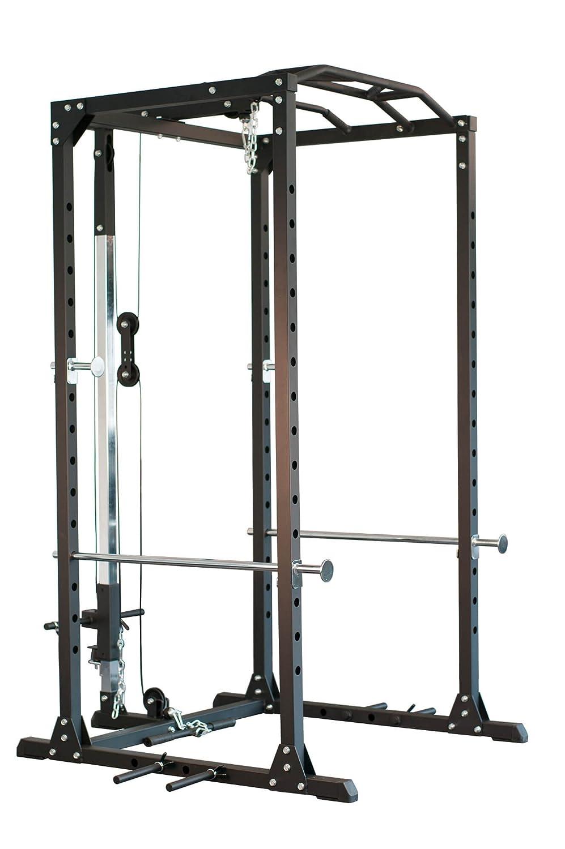 Jaula de entrenamiento Profi Power Rack newfitness® NE700A con ...