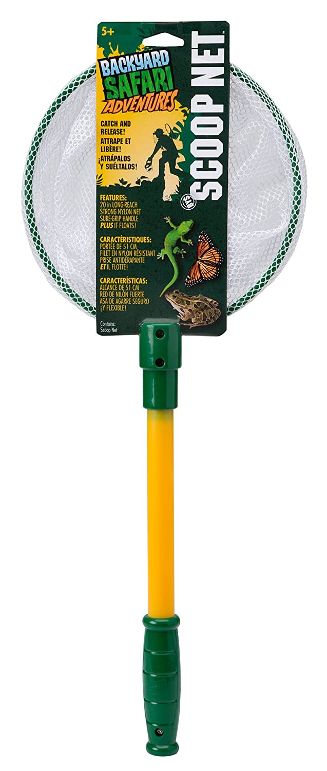 amazon com backyard safari scoop net toys u0026 games