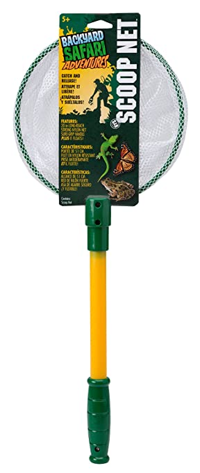 Amazoncom Backyard Safari Scoop Net Toys Games - Backyard safari outfitters butterfly habitat review