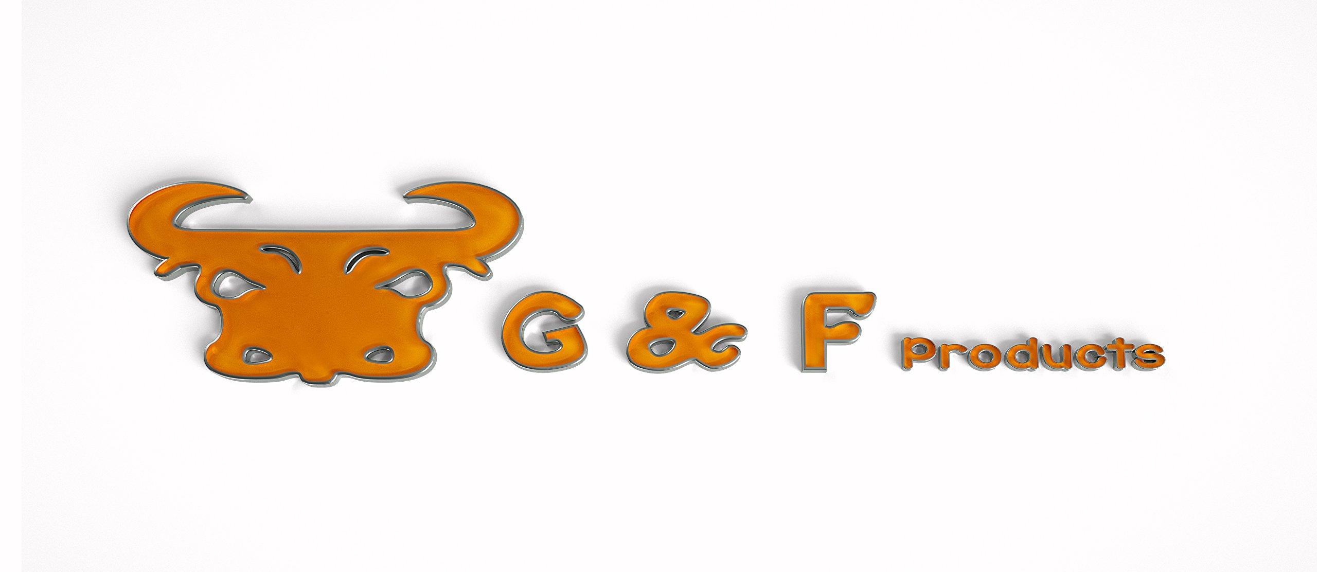 G & F 4408-25 Heavy Weight 9oz Cotton Brown Jersey Work Gloves, Large, 25-Dozen by G & F (Image #4)