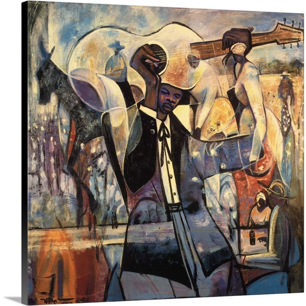 ウィリアムTolliverプレミアムシックラップキャンバス壁アート印刷題名ブルース 30