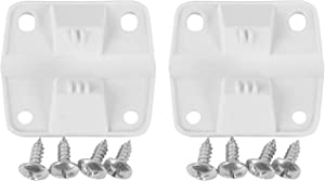 ZKP Coleman Cooler Replacement Plastic Hinges and Screws Set,Fits Most Coleman Coolers, Set of 2