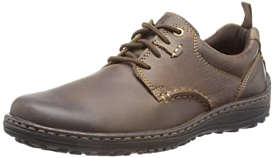 Hush Puppies Men's Belfast Oxford PL,Brown Leather,US ...