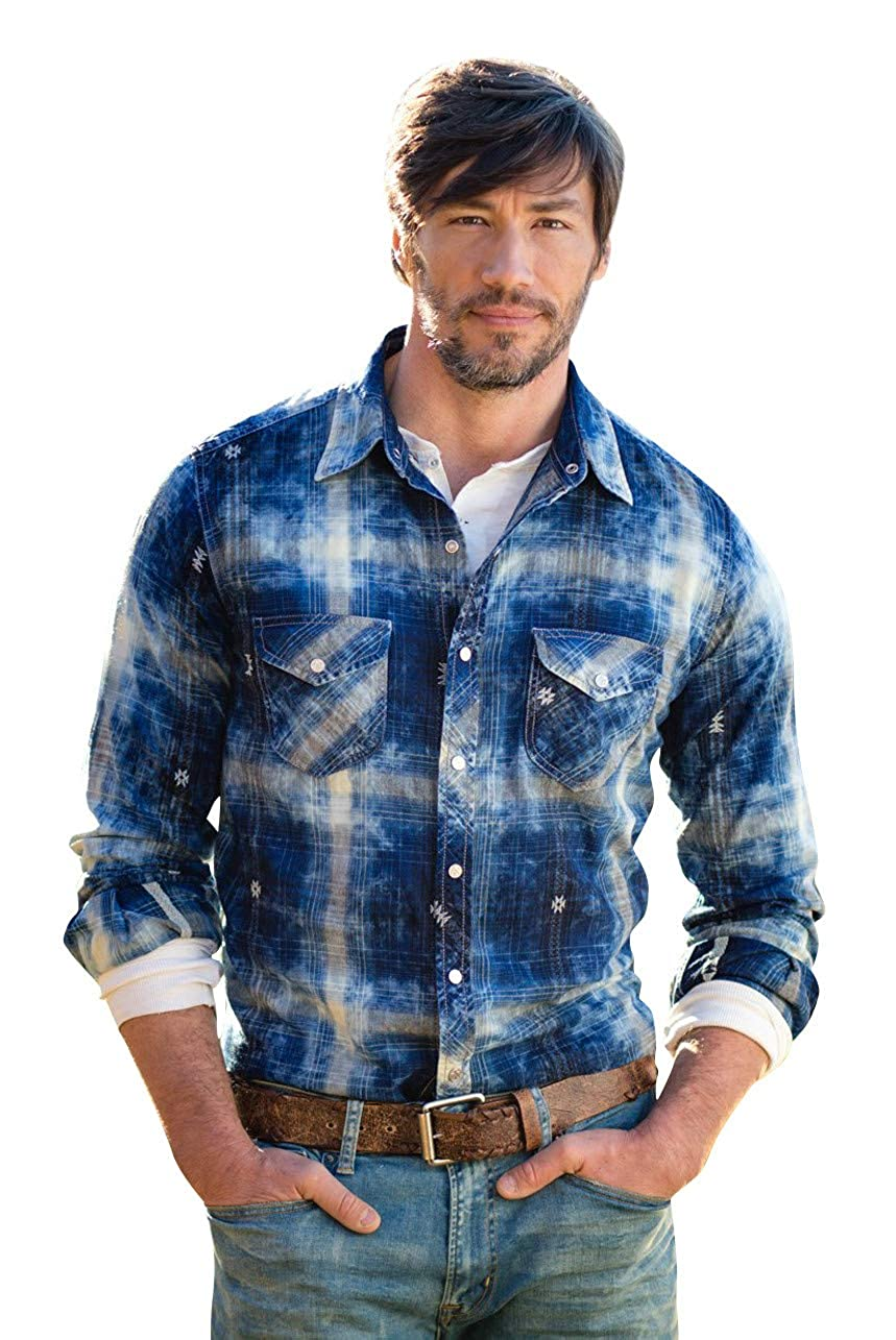 e466597c6a27 Mens Western Style Shirts With Snaps – EDGE Engineering and ...