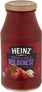Heinz Tomato and Garlic Bolognese Pasta Sauce, 525 g