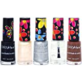Color Fever Muti Shine Nail Lacquer, Natural Hues, 25ml (Pack of 5)