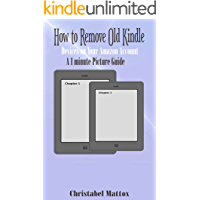 HOW TO REMOVE OLD KINDLE DEVICES ON YOUR AMAZON ACCOUNT: A 1 Minute Picture Guide