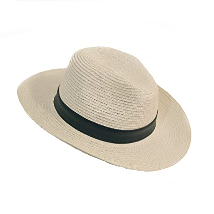 e34a10e507f 2NFashion Panama Roll Up Hats Fedora Beach Hats for Women Floppy Summer Hats  Wide Brim Foldable