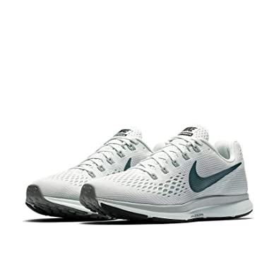 buy online d418e a0dee Amazon.com   Nike WMNS Air Zoom Pegasus 34 880560 008 Barely Grey Deep  Jungle Women s Running Shoes (7.5)   Sandals