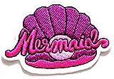 Nipitshop Patches Pink Sea Shell Seashell Ocean