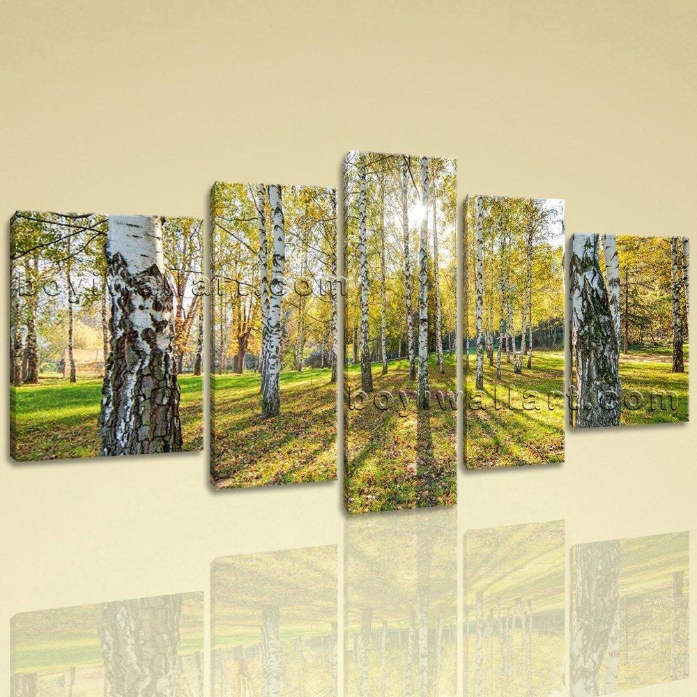 Amazon.com: Extra Large Sunset Glow Landscape Photography Canvas ...