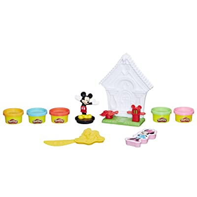 Play-Doh Disney Mickey Mouse Magical Playhouse: Toys & Games