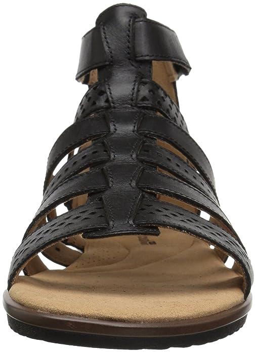 2ed212a3db0f Amazon.com  CLARKS Women s Kele Lotus Gladiator Sandal  Shoes
