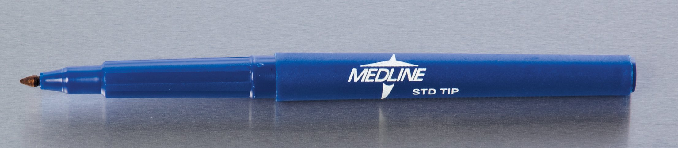 Medline DYNJSM02 Regular Tip Surgical Skin Markers with Ruler and Labels, Sterile (Pack of 50)