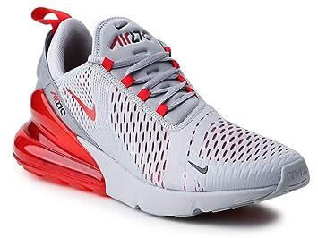Nike Men's Air Max 270 Shoes Wolf GreyUniversity Red
