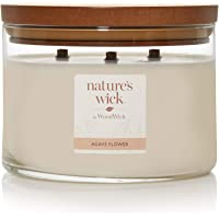 Nature's Wick Agave Flower candle