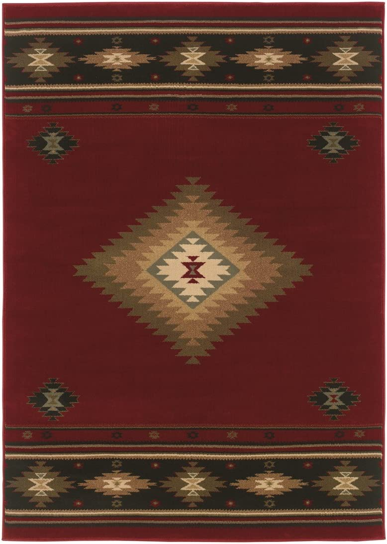 Feraghan New City Contemporary Area Rug, 13 x 16 , Brown Beige