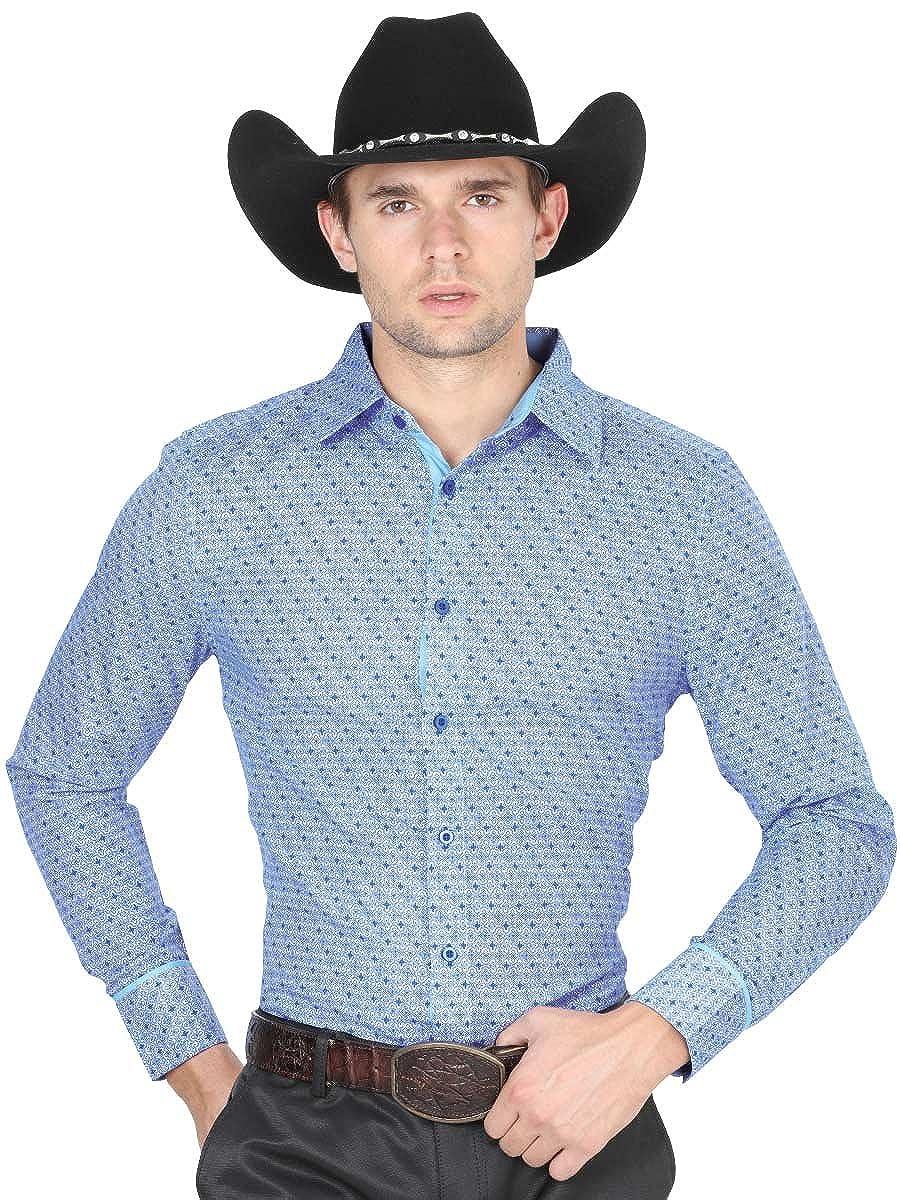 Camisa Casual Shirt L//Sleeve El General 50/% Polyester 50/% Cotton ID 40422 CS1 Royal Blue