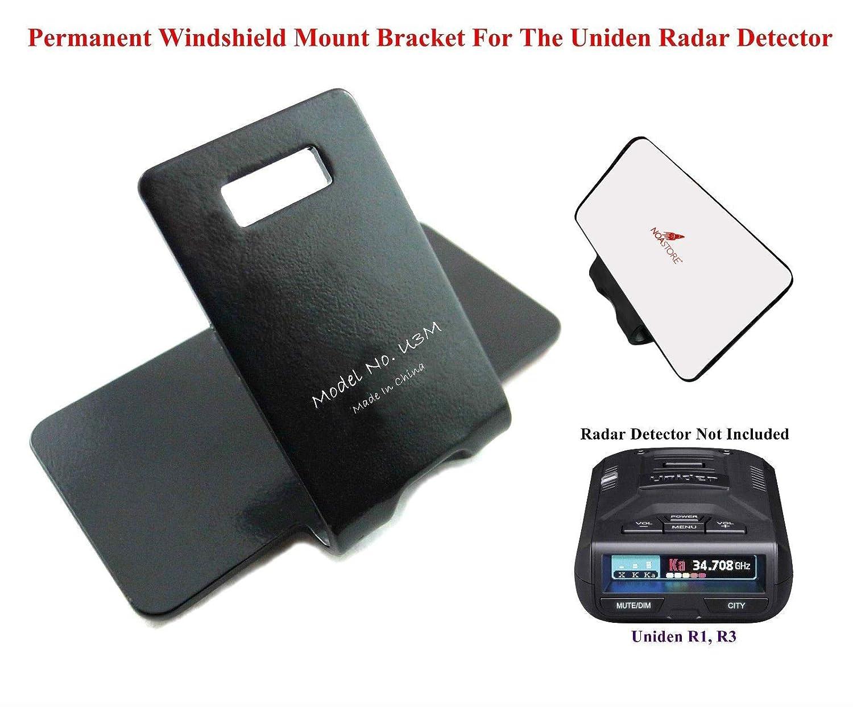 Amazon.com: Permanent Windshield Mount for The All Recent R1, R2, R3, Uniden Radar Detector: Car Electronics