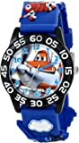 "Disney Kids' W001527 ""Disney Planes Fire & Rescue""  Watch with Blue Plastic Band"