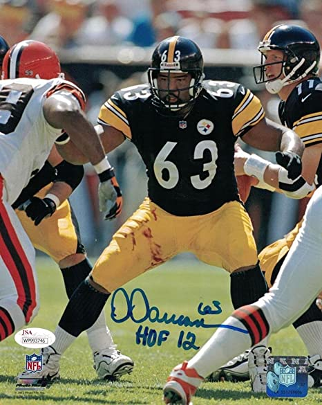 3c9e52d3858 Signed Dermontti Dawson Photo - 8x10 21568 - JSA Certified - Autographed  NFL Photos